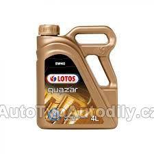 Olej motorový 5W-40 LOTOS QUAZAR 4L