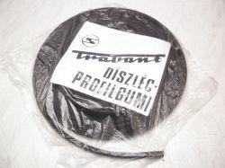 Guma lišty karoserie Trabant : 000002027
