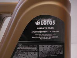 www.autotypautodily.cz Olej motorový 5W-30 A5/B5 LOTOS SYNTETIC 5L LOTOS-PL