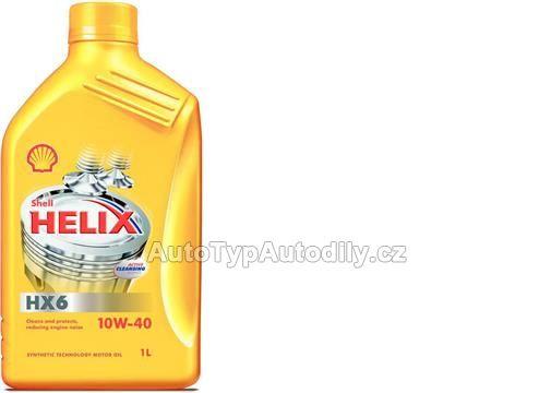 www.autotypautodily.cz Olej motorový Helix HX6 10W-40 1L: 959154 Shell