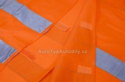 www.autotypautodily.cz Vesta výstražná oranžová EN 20471:2013