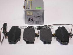 Destičky brzdové přední Fiat Tipo/ Tepra/ LANCIADEDRA