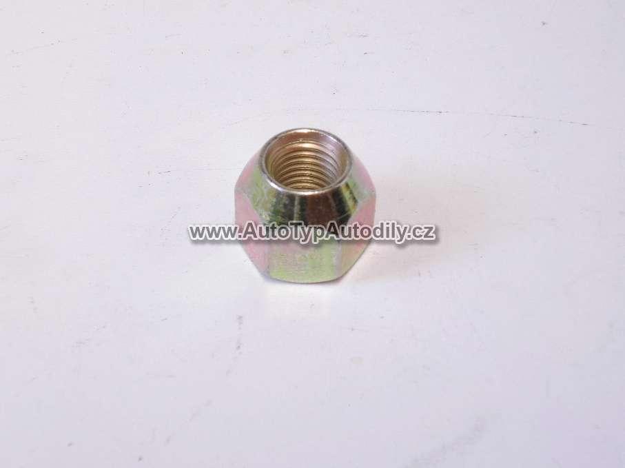 www.autotypautodily.cz Matice kola M12x1,5x 13mm FORD/ TRABANT/MAZDA na klíč 19mm