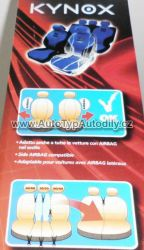 www.autotypautodily.cz Autopotahy Kynox vínovo - černé Lampa