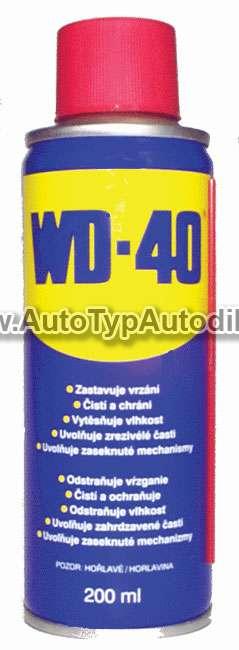 www.autotypautodily.cz Mazivo universální WD40 250ml