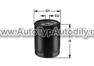 www.autotypautodily.cz Filtr olejový Seat Alhambra/Cordoba//Ibiza/Toledo 1,9D DENCKERMANN