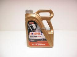 Zvětšit fotografii - Olej motorový 5W-40 LOTOS SYNTETIC 5L