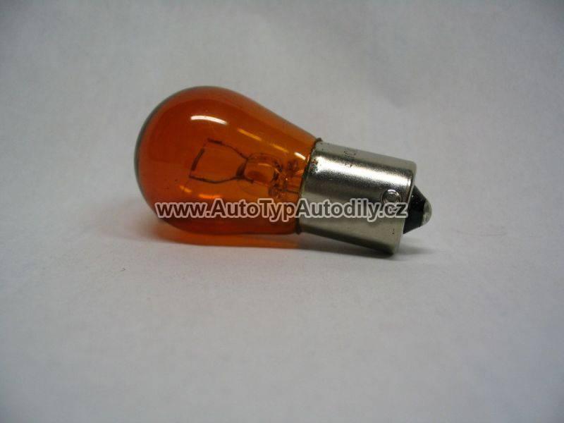www.autotypautodily.cz Žárovka 24V 21W BAU 15s oranžová Lampa