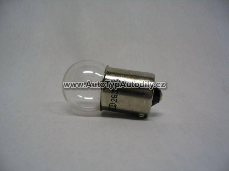 www.autotypautodily.cz Žárovka 24V 5W Ba15S Lampa