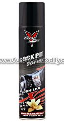 Cockpit spray vanilka CLEAN FOX 400ml