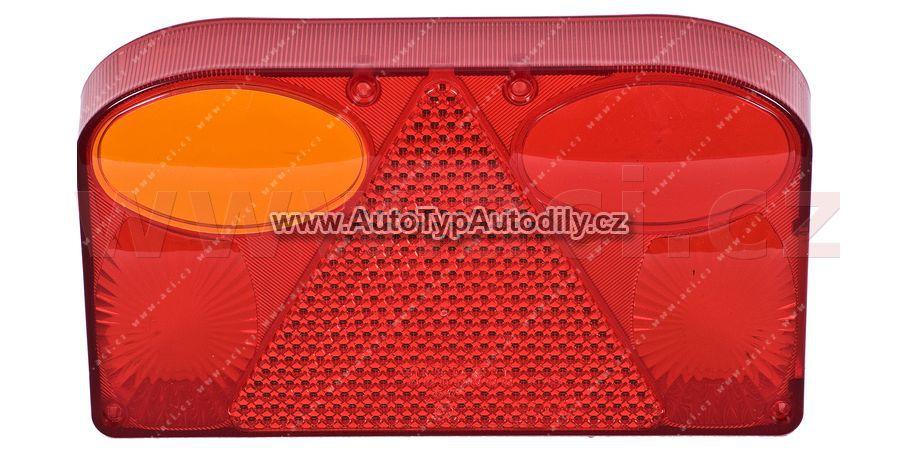 www.autotypautodily.cz Krytka zadního světla - obdélník s mlhovkou L: 9907521
