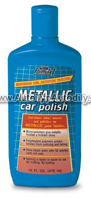 www.autotypautodily.cz Leštěnka na metalcké laky Metallic Car Polish 475ml 913800 Formula 1
