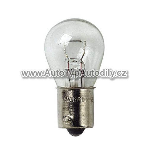 www.autotypautodily.cz Žárovka 12V 21W Ba15S LUCAS