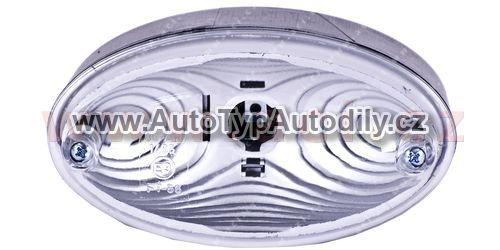www.autotypautodily.cz Couvací světlo ovál 126mm (montáž na 2 šrouby)