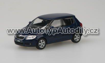 www.autotypautodily.cz Škoda Fabia II KC-Storm Blue Metallic ABREX