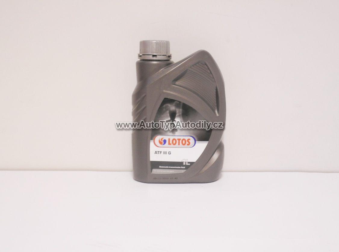 www.autotypautodily.cz Olej pro automatické převodovky a do servořízení ATF 3 G DEXRON III LOTOS : H5395 LOTOS-PL