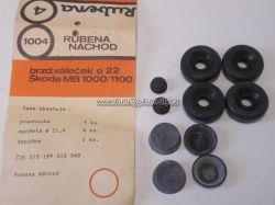 Zvětšit fotografii - Sada gumiček č. 4. pro brzdový váleček 22 mm Škoda 1000/1100