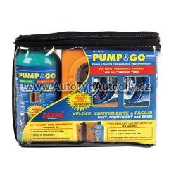 www.autotypautodily.cz Oprava pneu - set gel s kompresorem Lampa