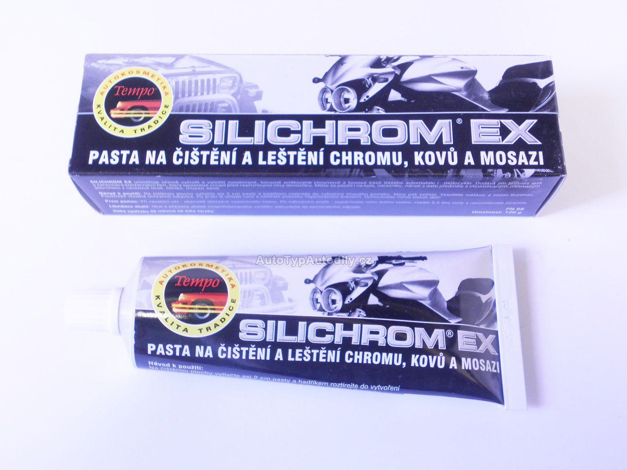 www.autotypautodily.cz Silichrom,pasta na leštění chromu a kovů 120g TEMPO