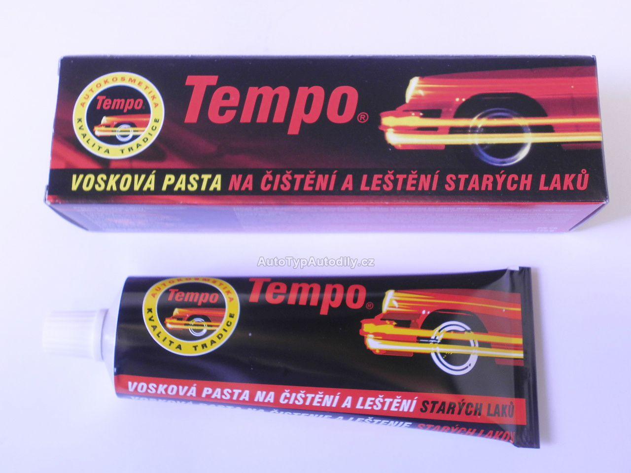 www.autotypautodily.cz Tempo,leštící pasta na staré laky 120g