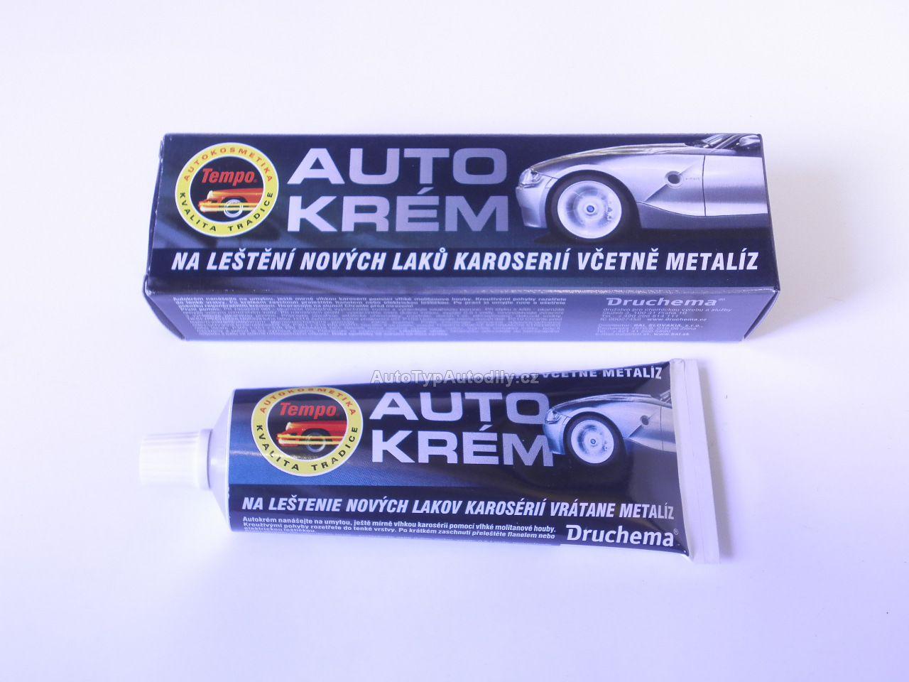 www.autotypautodily.cz Tempo,nové laky- autokrém 120g