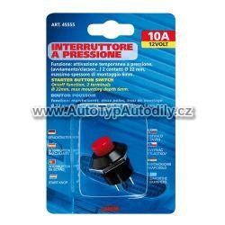 www.autotypautodily.cz Vypínač tlačítkový 12/24V - 10A - 45555 Lampa - IT
