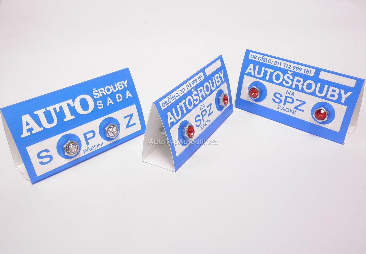 www.autotypautodily.cz Autošrouby na SPZ : 311 112 999 151 Cz