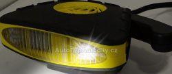 www.autotypautodily.cz Ventilátor s ohřevem 12V COMPASS