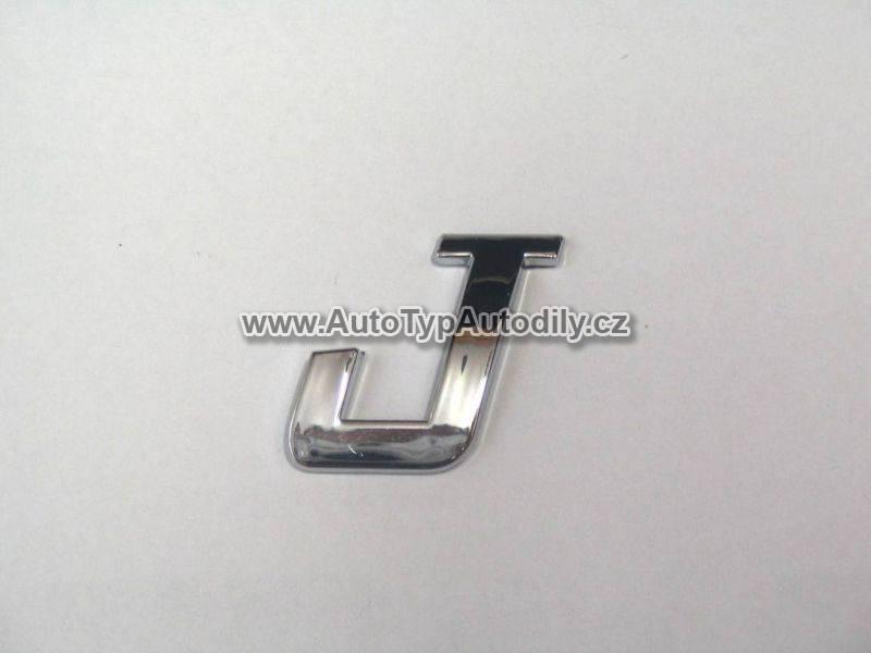 www.autotypautodily.cz Znak písmeno J