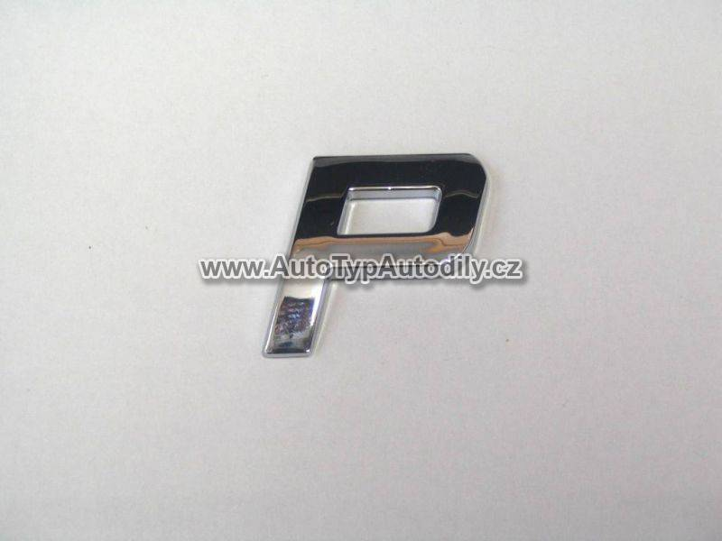www.autotypautodily.cz Znak písmeno P