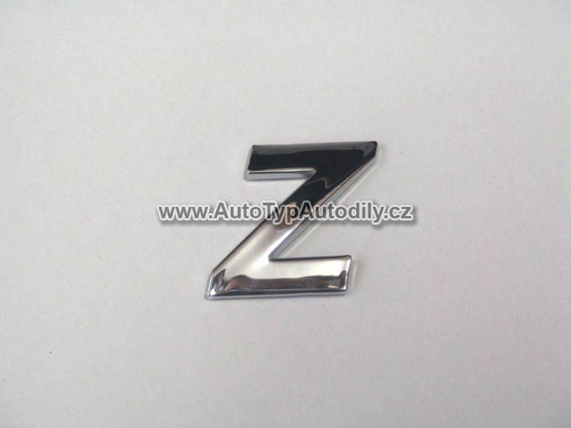 www.autotypautodily.cz Znak písmeno Z