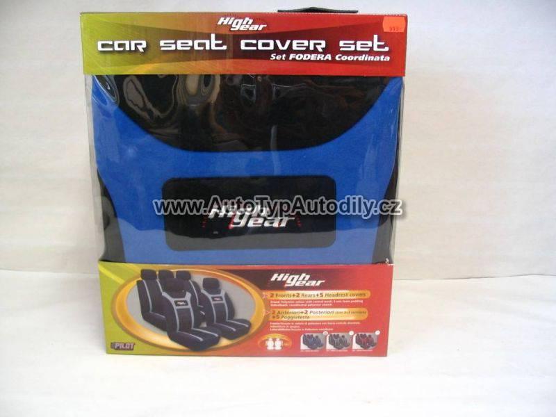www.autotypautodily.cz Autopotahy High gear černo - modré