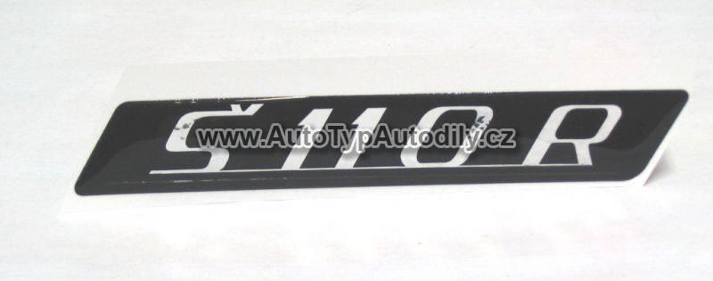 www.autotypautodily.cz Znak Š 110R CZ