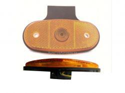 Poziční světlo DOB-46DB/K LED, oranžové s držákem