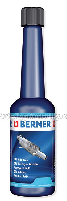 www.autotypautodily.cz Aditivum pro filtry pevných částic 150 ml, láhev Berner