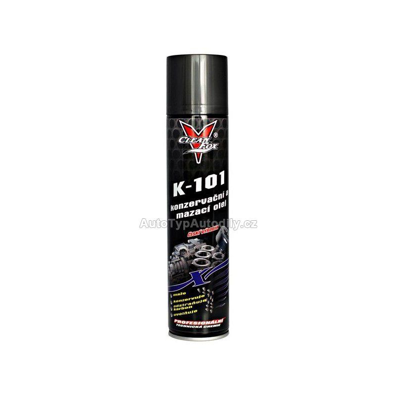 www.autotypautodily.cz Konzervační olej K-101 400 ml CLEAN FOX