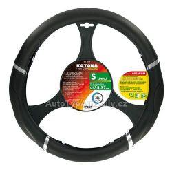 Potah volantu na menší volaty 35-37cm KATANA PREMIUM černý