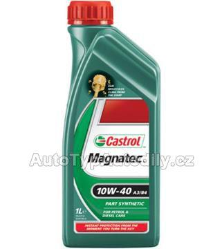 www.autotypautodily.cz Olej motorový 10W-40 Magnatec A3/B4 CASTROL 1L: CAS103