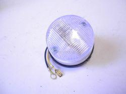 Poziční světlo kulaté bílé úchyt na šroub : 0V010347