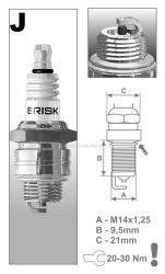 Svíčka Brisk JR19