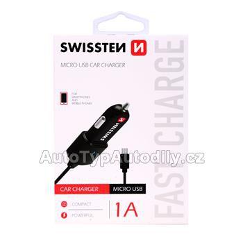 www.autotypautodily.cz Nabíječka telefonu SWISSTEN 1A micro USB - 20111100 Lampa - IT