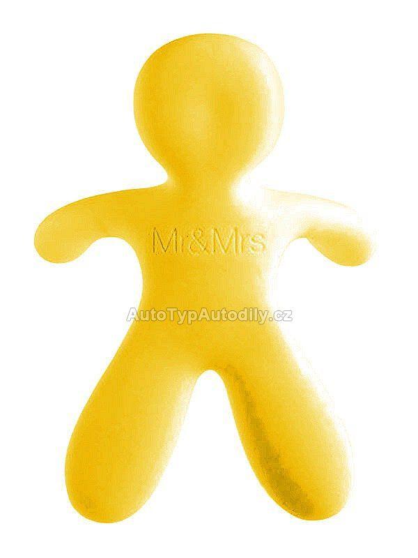 www.autotypautodily.cz Osvěžovač Mr&Mrs Fragrance CESARE Vanilla žlutý