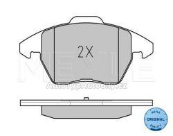 Destičky brzdové přední Škoda Octavia2 pro kotouč 288x25, 312x25 MEYLE : 5K0698151
