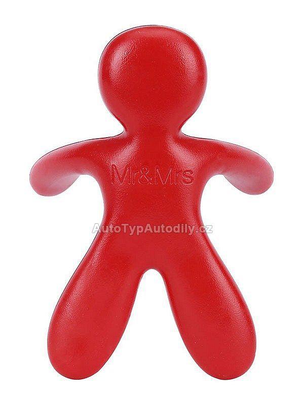 www.autotypautodily.cz Osvěžovač Mr&Mrs Fragrance CESARE Pepper Mint červený