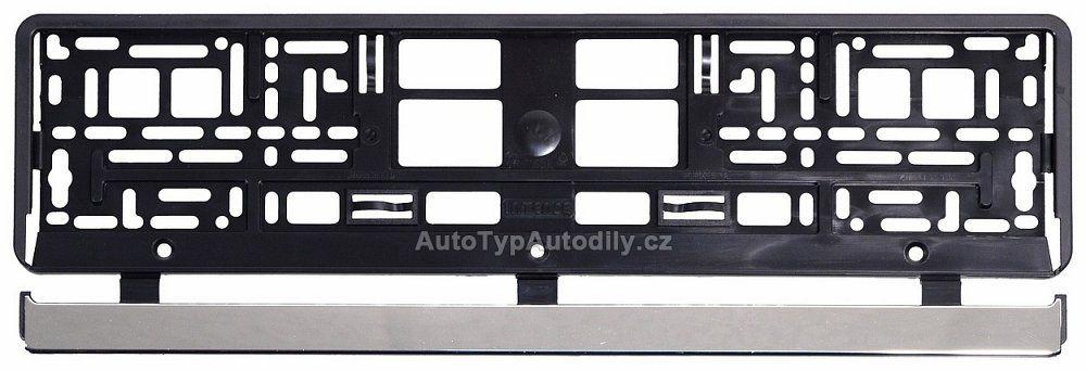 www.autotypautodily.cz Podložka pod SPZ VIO CHROM-BLACK CAR CZ