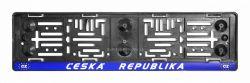 Podložka pod značku  ČESKÁ REPUBLIKA modrá