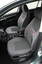 www.autotypautodily.cz Potahy sedadel sada 9ks CARBON LIGHT šedé AIRBAG COMPASS