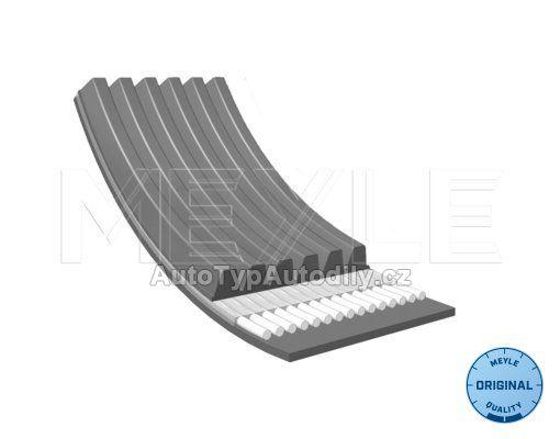 Řemen drážkový alternátoru Fabia 1,2 40/47kw 6PK1880 s klima : 03D145933AD MEYLE DE