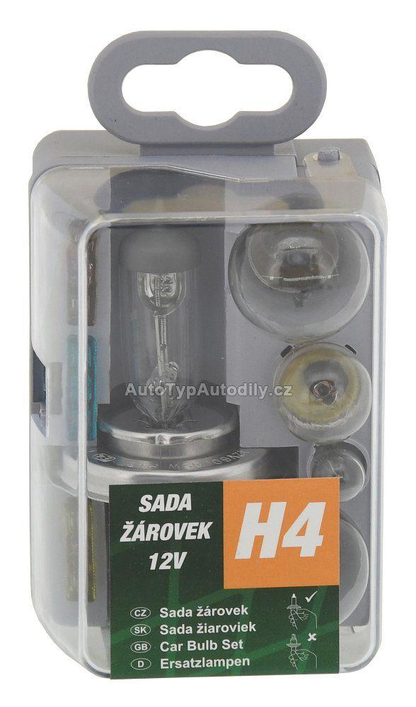 www.autotypautodily.cz Sada žárovek UNI 12VH4 COMPASS 08531