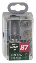 Sada žárovek UNI 12V / H7 COMPASS 08501